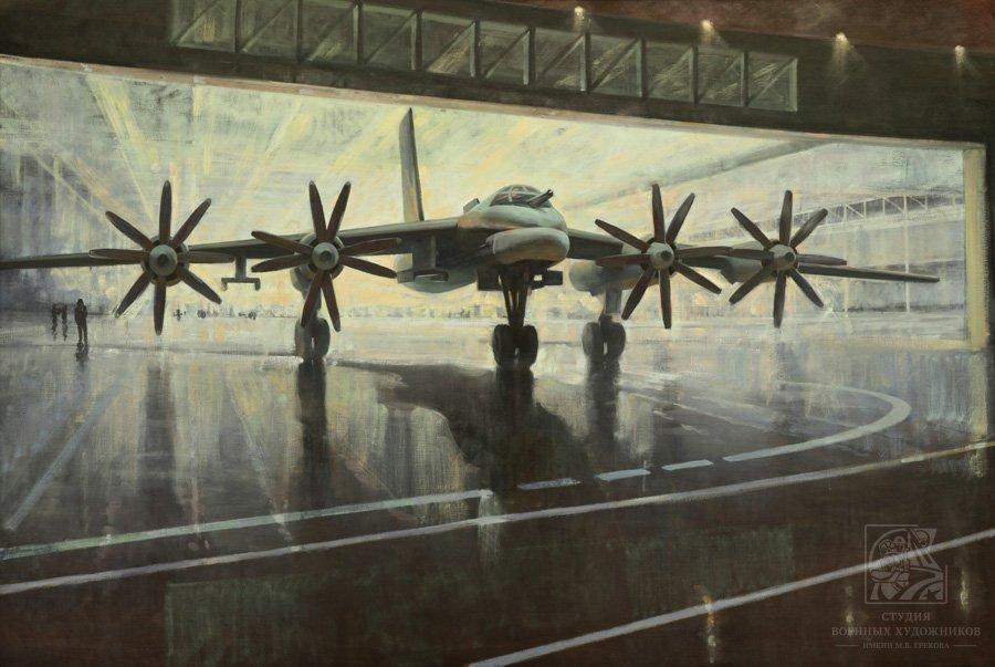 Лебедев И.М. Ту-95
