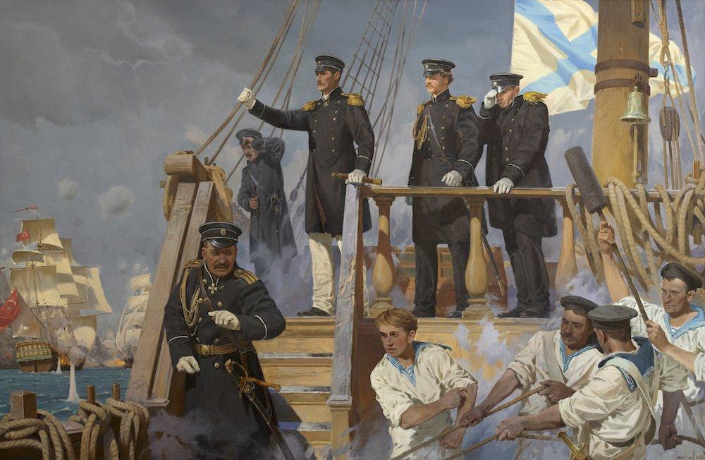 Потогин В. В. Победа эскадры вице-адмирала П.С.Нахимова в Синопском сражении