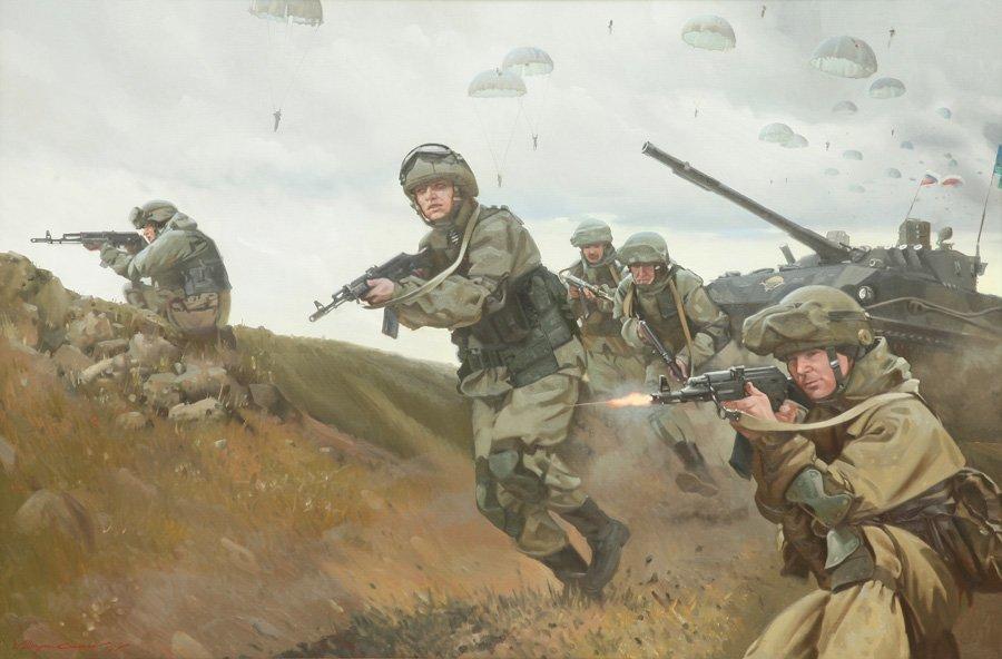 Штрикман Л.Л. Воздушно-десантные войска