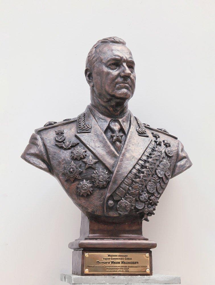 Клавсуц Д.В. Маршал авиации И.И. Пстыго