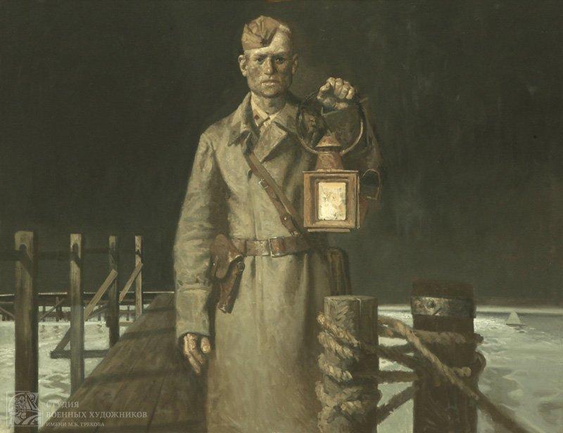 Колупаев Н.В. Комендант переправы. Сталинград. 1942 год