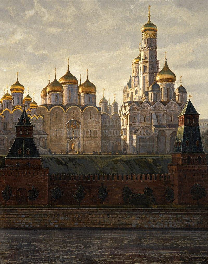 Ананьев А.М. Москва. Кремль