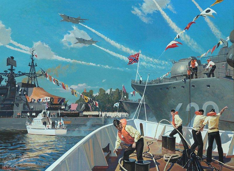 Ездаков О.В. День ВМФ в Балтийске. Современный Балтийский флот