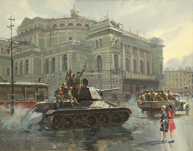 Ананьев Д.А. Ленинград сорок пятого. Возрождение
