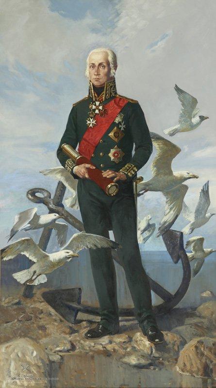 Колупаев Н.В. Адмирал Ушаков Ф.Ф.