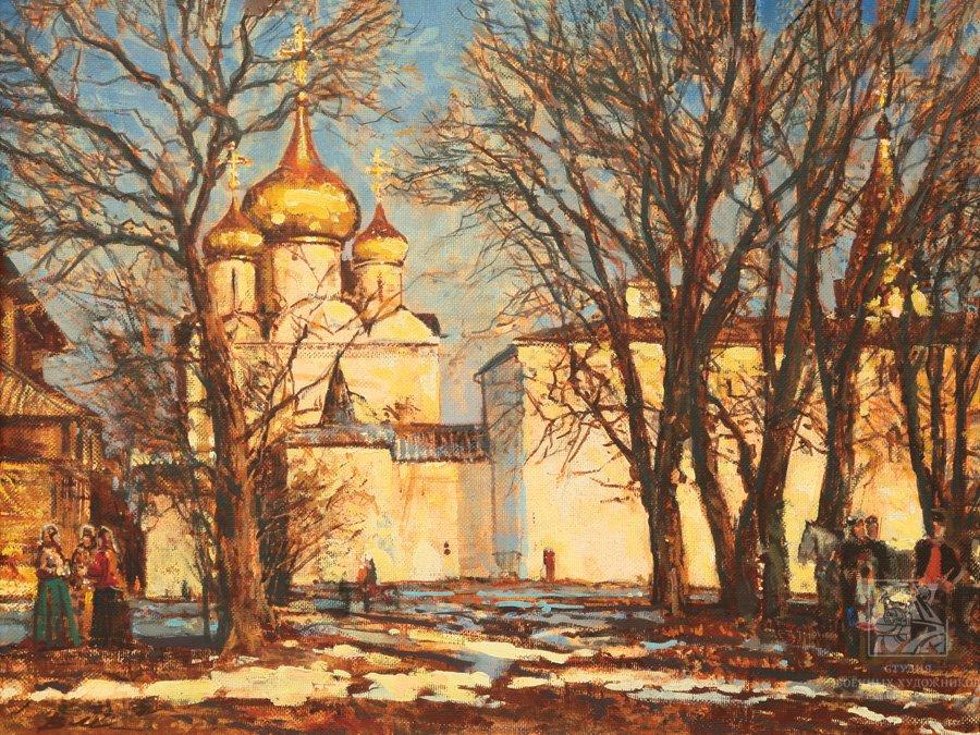 Мокрушин В.А. Суздаль. Рождественский собор