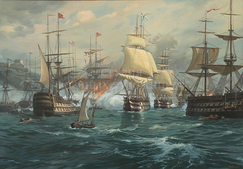 Ананьев Д.А. Наваринское сражение. 1827 год
