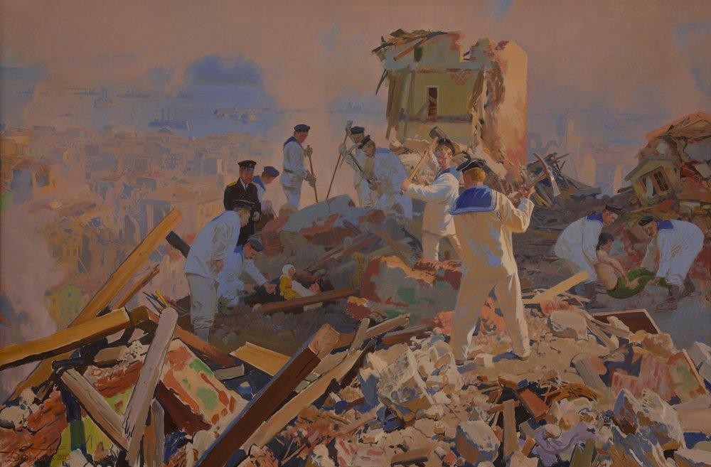 Белюкин Д.А. «Ангелы с моря». Подвиг русских моряков в Мессине в 1908 году