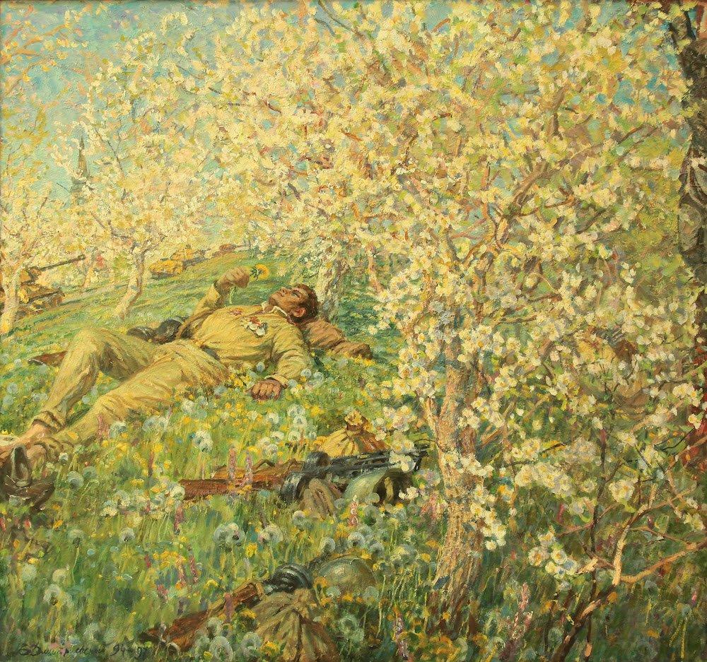 Дмитриевский В.К. Весна победы.