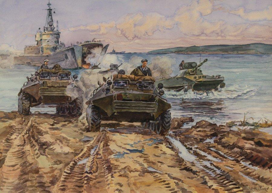 Щербаков В.Н. Морской десант