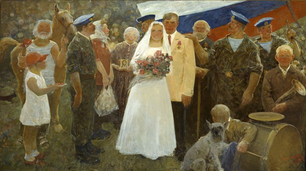 Данилевский Е.И. Свадьба друга