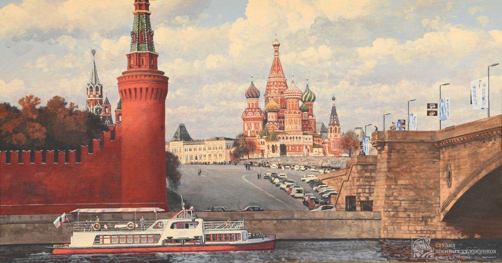 Коротков Н.Н. Вид на Покровский собор с Софийской набережной