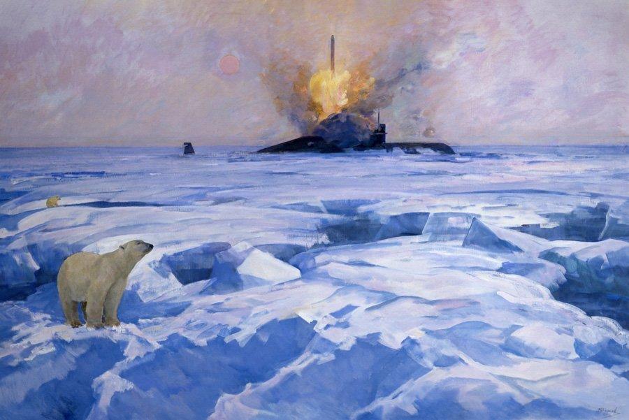 ТАУТИЕВ В.Б. Ракетный залп подводной лодки Екатеринбург