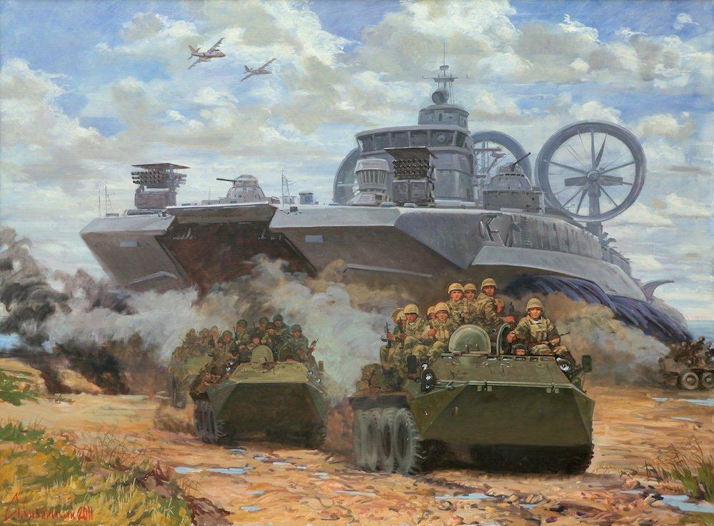 Сибирский А.В. Морской десант