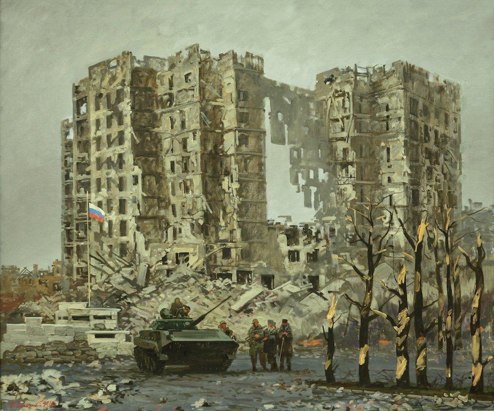 Сибирский А.В. Блокпост в Грозном