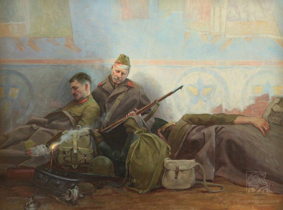 Минеева П.В. Солдатский сон