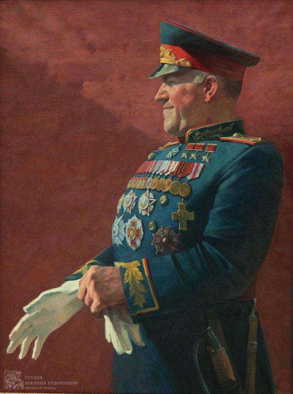 Камынинна Е.В, Портрет Жукова Г.К.