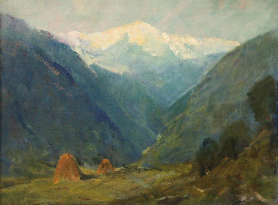 Таутиев В.Б. Горный пейзаж
