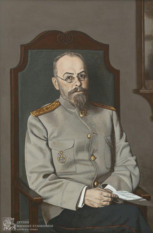 Коротков Н.Н. Портрет Евгения Сергеевича Боткина