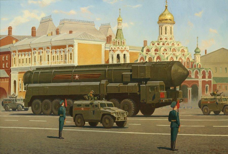 Потогин В.В. Парад на Красной площади