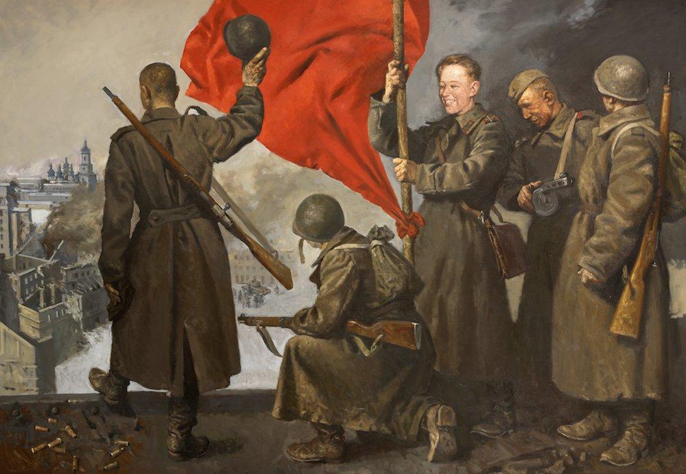 Колупаев Н.В. Герой Советского Союза, лейтенант Сысолятин Иван Матвеевич. Освобождение Киева