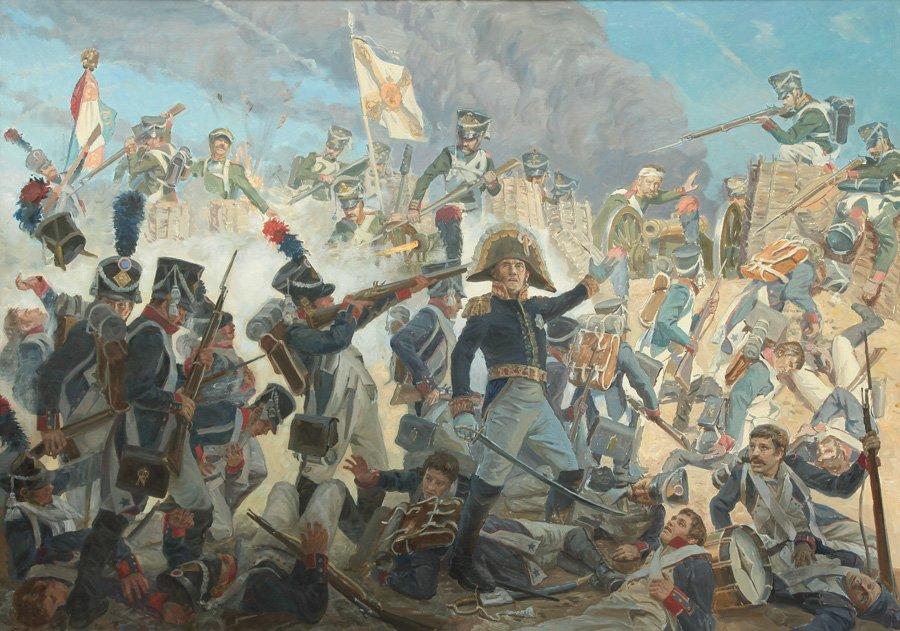 Трошин С.Н. Бородинское сражение. 26 августа 1812