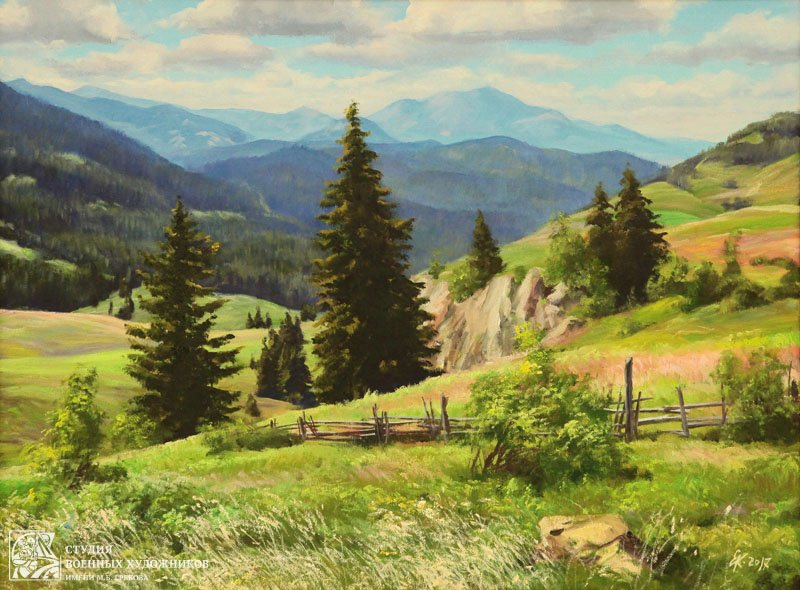 Корнеев Е.А. Альпийские луга