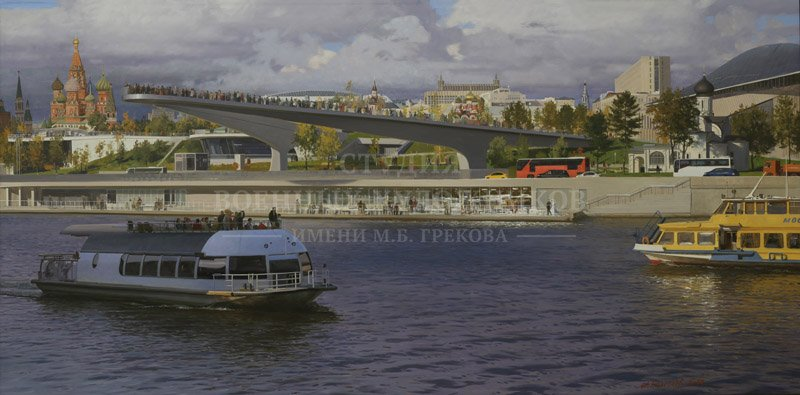 Полетаев М.А. Парк Зарядье