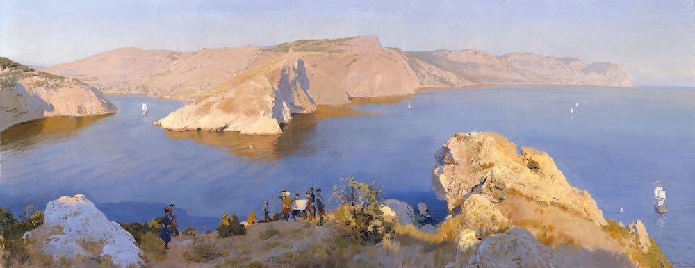 Белюкин Д.А. Балаклавская бухта в 1773 г.