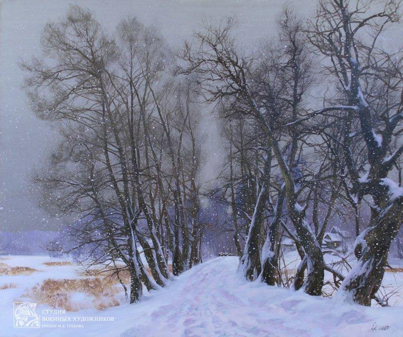 Корнеев Е.А. Снежный декабрь
