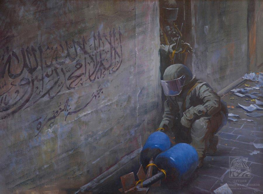 Лебедев И.М. Саперы в Дамаске