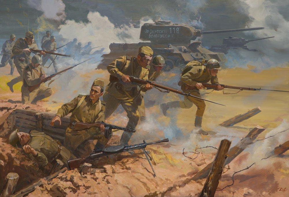 Дроздов А.Ю. Решение боевых задач Сухопутными войсками