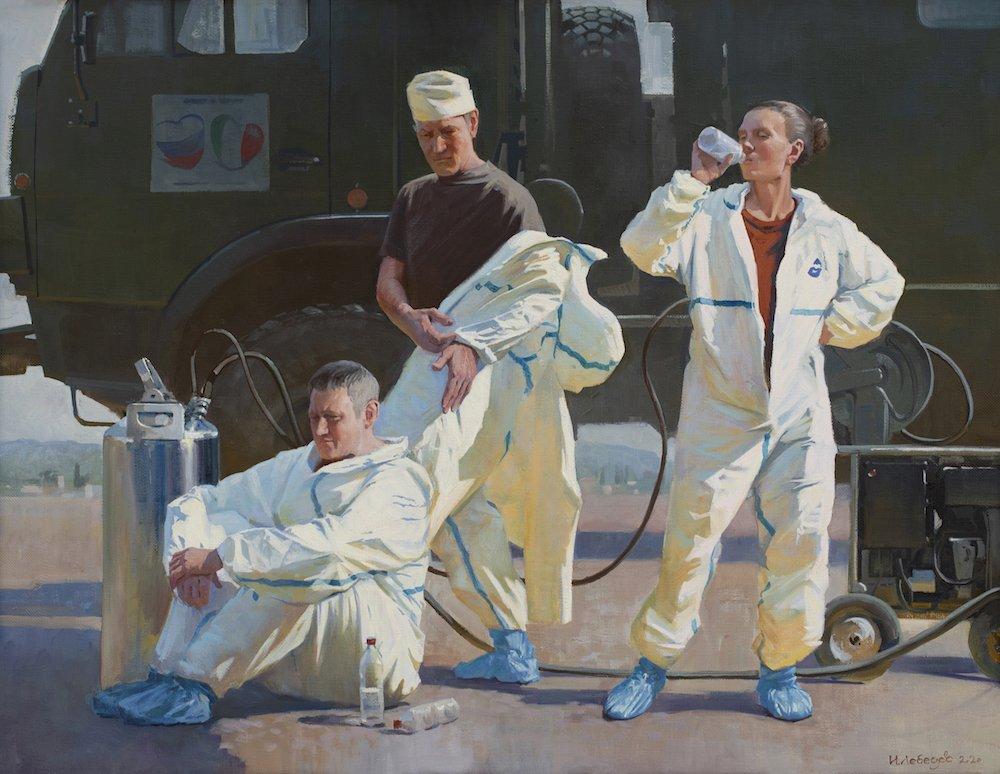 Лебедев И.М. Российские военные врачи в Италии