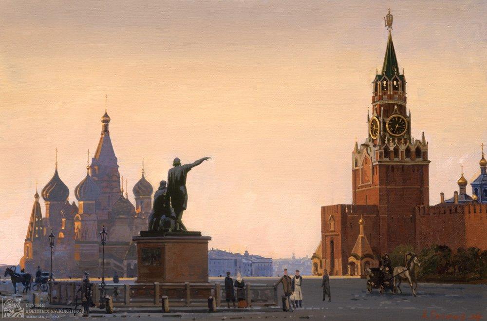 Евстигнеев А.В. Красная площадь на рубеже XIX-XX веков