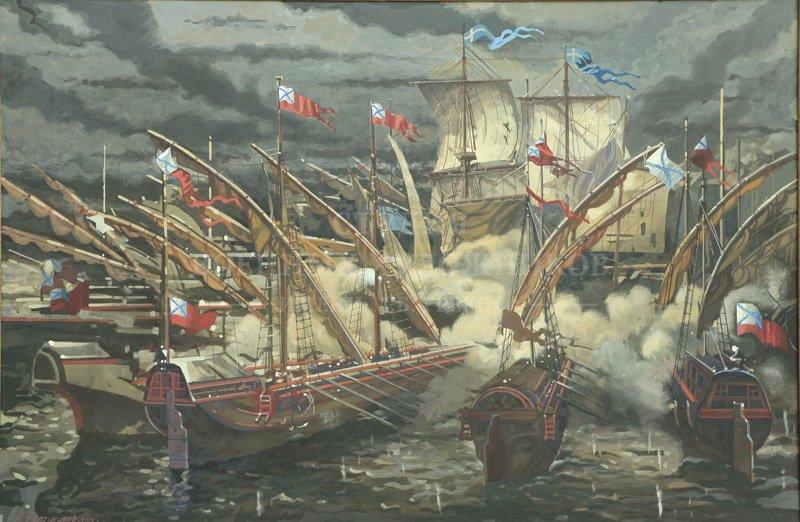 Евстигнее А.В. Черноморский флот в истории России XVIII-XXI вв. Гангутское сражение