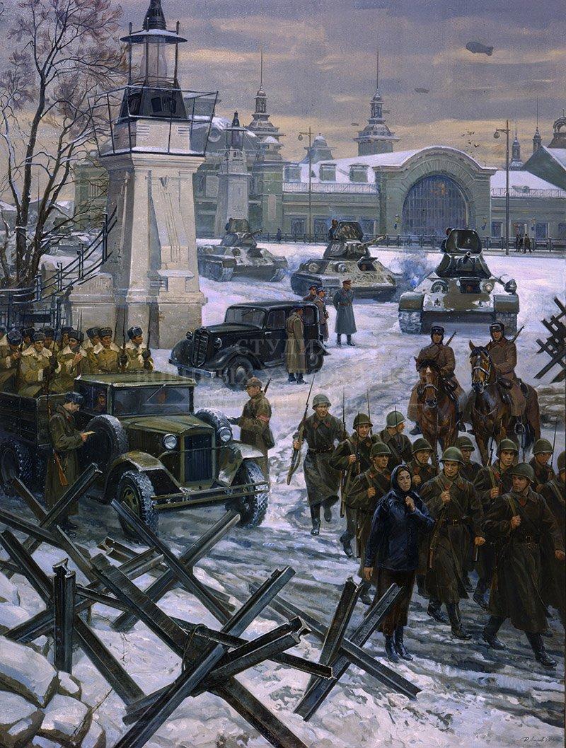 Ананьев Д.А. Белорусский вокзал. На защиту Москвы.