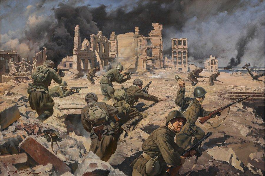 Сытов А.К. Сталинградская битва