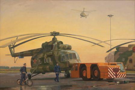 Соловьева Е.А.Техобслуживание вертолета Ми-8