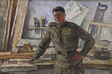 Переяславец В.И. Солдат-столяр