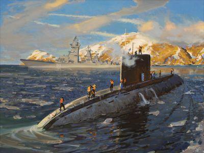 Ездаков О.В. Подводная лодка типа «Варшавянка» - 40 лет в строю