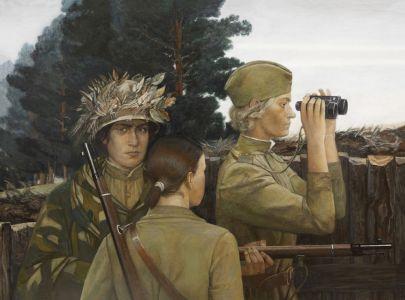 Соловьева Е.А. Женщины -снайперы ВОВ