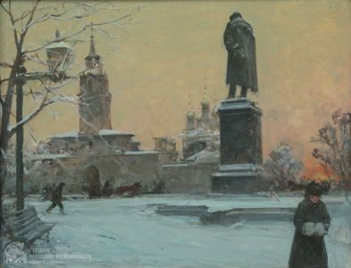 Данилевский Е.И. Тверской бульвар