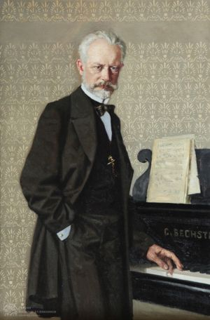 Колупаев Н.В. Портрет П.И. Чайковского