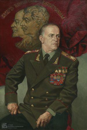 Колупаев Н.В. Портрет Маршала Советского Союза Г.К. Жукова