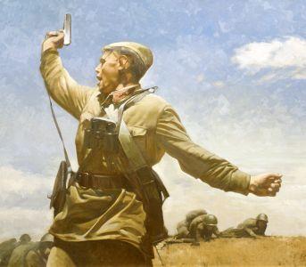 Штрикман Л.Л. Комбат. По мотивам военной фотографии