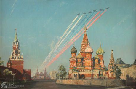 Ананьев Д.А. Воздушный парад на Красной площади