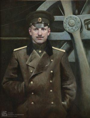 Камынина Е.В. Портрет Нестерова П.Н.