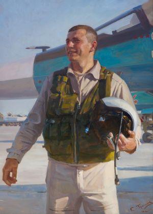 Трошин С.Н. Портрет командира полка Шишкина В.А. (по итогам командировки в Сирию 2016 г.)