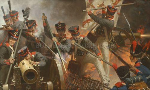 Полетаев М.А. Круговая оборона. Редут 1812 года