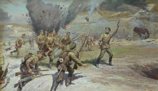 Трошин С.Н. Галицийская наступательная операция. Взятие крепости Перемышль (1914 год)